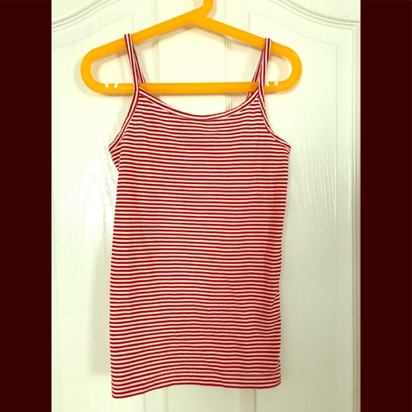 YES Other - 👚 YES girl's red-white stripe cami tank top NEW